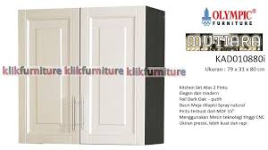 olympic furniture. Kitchen Set Olympic KAD 010880 2 Pintu Atas Mutiara Furniture