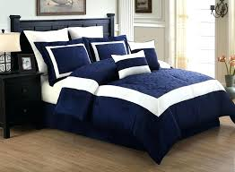 blue king bed blue king size bedspreads 8 piece navy blue white blocked king size comforter