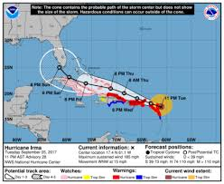 Atlantic Basin Hurricane Tracking Chart National Hurricane Center Miami Florida Hurricane Irma If There Was Such A Thing As A Category 6