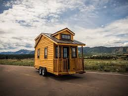 Small Picture 131 Sq Ft Linden 20 Horizon Tiny Home on Wheels by Tumbleweed Houses