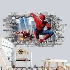 avenge wall decor spiderman wall decal