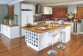Kitchens With Wine Racks Kitchen Gallery The Practical Entertainer Kaboodle Kitchen