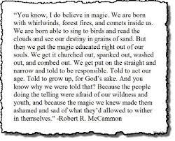Escape Quotes Classy I Do Believe In Magic Bound 48 Escape