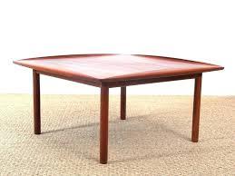 mid century glass coffee table danish modern coffee table in teak model mid century glasid century glass coffee table