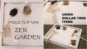 diy dollar tree zen garden affordable table top decor spring 2017