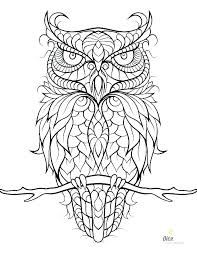 Printable Owl Coloring Pages Printable Owl Coloring Pages Page Free