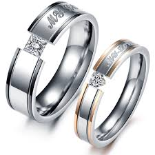 Wedding Ring Sets Titanium