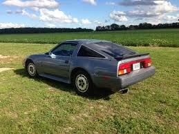 1986 nissan 300zx base coupe 2 door 3 0l silver blue metallic sports car