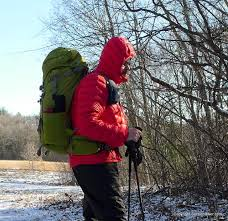 the back of the ll bean ultralight 850 down hooded jacket has a slight droptail which