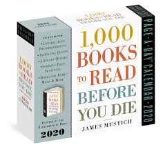 1 000 Books To Read Before You Die Page A Day Calendar 2020