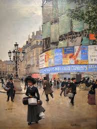 jean béraud 1849 1935 was a french impressionist painter and commercial artist noted