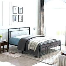 Inspiring White Quilted Bed Frame Grey Upholstered Gray Bedrooms ...