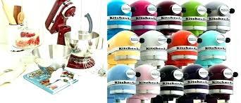 Color Aid Chart Kitchen Aid Mixer Colors Seductive Mixer Color Chart