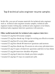 technical sales resumes top 8 technical sales engineer resume samples 1 638 jpg cb 1428673427