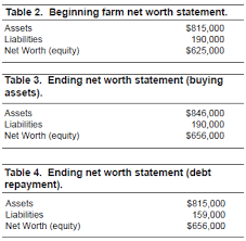 Net Worth Of Business Building Equity In Your Farm Ag Decision Maker