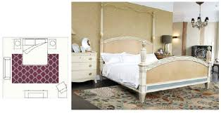 Innovation Bedroom Area Rugs Placement To Select An Appropriately Sized Rug Hmd Inside Models Ideas