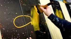Acrylic Painting - <b>Abstract Art</b> Demonstration | Aeolus - YouTube