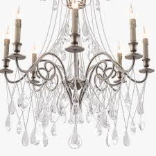 currey and company lillian chandelier 3d model max obj fbx mtl 4