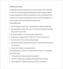 Ssrs Developer Resume 100 Java Programmer Resume Sample Programmer Resume
