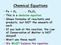 6 chemical equations