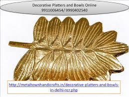 Decorative Platters And Bowls