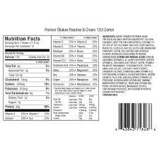 premier protein high protein shake peaches cream 11 fl oz