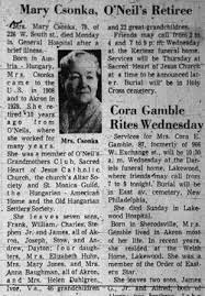 Mary Halia Csonka (1892-1971) - Find A Grave Memorial
