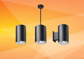 tunable white led cylinder pendants
