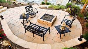 eye catching flagstone patio design ideas