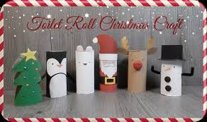DIY Toilet Paper Roll Christmas Craft Recycle  YouTubeChristmas Crafts Made With Toilet Paper Rolls