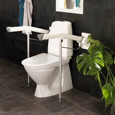 wall mounted toilet arm support etac s p a