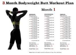 workout plan month 1