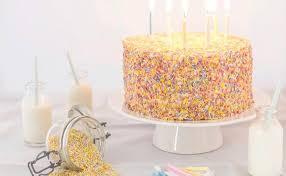 White Birthday Cake With Cream Cheese Frosting