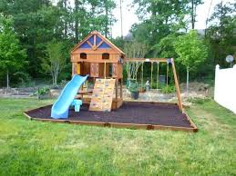 outdoor playsets for small yards unique wood backyard of inspirational landscape design ideas idea