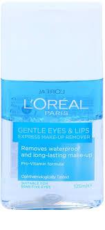 l oréal paris gentle eye and lip make up remover for sensitive skin