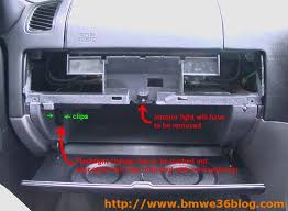 removing bmw e36 glove box diy bmw e36 blog this is retained my the two remaining screws near the hinges and the bolt that is hidden under the interior light in addition to these there are two wires