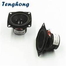 Tenghong 2 Pcs 2 Inç Taşınabilir Hoparlörler Tam Aralıklı Hoparlör 50 MM  4Ohm 10 W HIFI Hoparlör Araba Stereo Ev Sineması Için DIY Hoparlörler -  Unitsgear.news