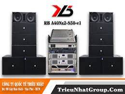 Dàn âm thanh sân khấu Array 40 Đôi Neo Sub đơn 50 Khuyến mãi giá rẻ