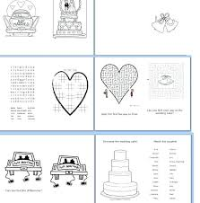 wedding activity book for kids template letter synonym coloring superb full page co