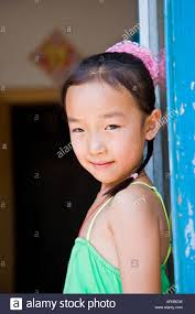 Young looking asian girl