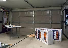 insulation garage door garage door insulation kit 1 owens corning garage door insulation kit instructions 16x7