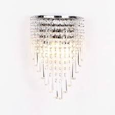 Crystal Wall Lights Topdeng Modern Crystal Wall Lamp E12 Wall Sconce Luxury
