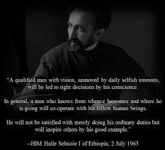HIM Haile Selassie I Of Ethiopia Words Of Wisdom Inspiration Custom Rasta Wisdom Quotes