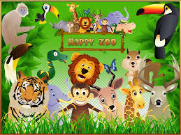 group of zoo animals clipart. Group Of Zoo Animals Clipart Inside