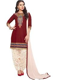 Amazon Punjabi Suits Design Chakudee By Red Cotton Drees Material Amazon In Clothing