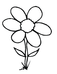 Pics Of Flowers To Color Coloring Picture Of A Flower Best A Images
