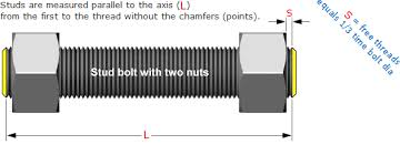 Flanged Connection Studbolt Length Calculation Engineering
