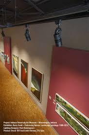 museum track lighting. Bruck Lighting\u0027s GEO Track With Chroma Z15 Spots In Indiana University Art Museum Displays These Precious Lighting