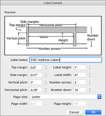 Avery Label Sizes Chart Use Avery Templates In Word For Mac Word For Mac