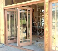 exterior folding doors exterior folding door patio doors stack to one side open interior glass exterior